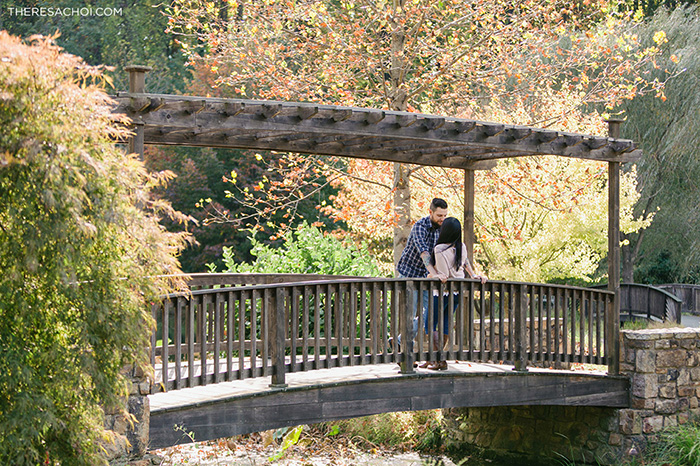 Meadowlark Botanical Gardens Engagement Dana David Theresa Choi Photography